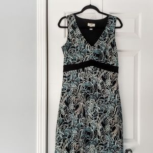 Ann Taylor Loft  Size 10 slv less Dress EUC